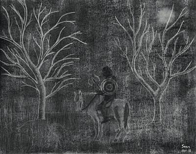 The Myrtles Art Print by Sean Mitchell
