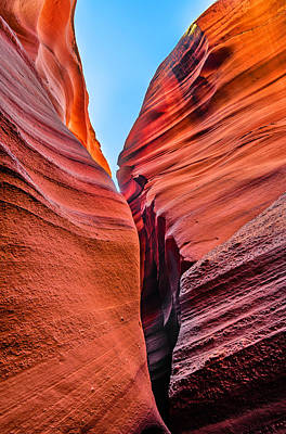 Photograph - The Mysterious Canyon 1 by Jason Chu