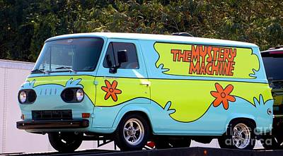 Photograph - The Mystery Machine by Tim Townsend
