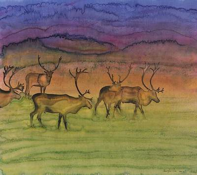 The Mystery Of Migration Print by Carolyn Doe
