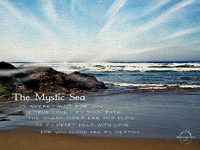 Photograph - The Mystic Sea by Absinthe Art By Michelle LeAnn Scott