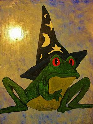The Bunsen Burner - The Mystical Frog by Sherman Perry