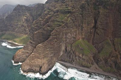 Photograph - The Na Pali Coast Of Kauai by Steven Lapkin