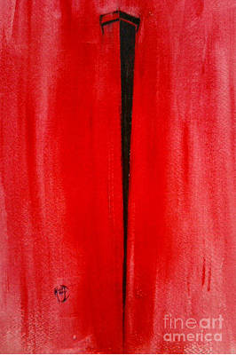 Justin Moore Painting - The Nail by Justin Moore