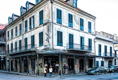 Photograph - The Napoleon House Nola by Kathleen K Parker