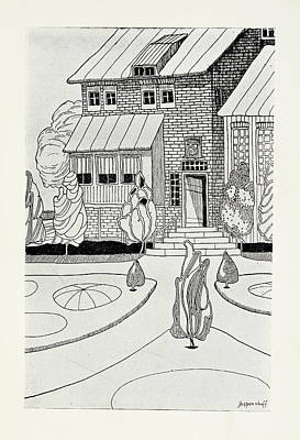 The Narrator's Home Art Print by British Library