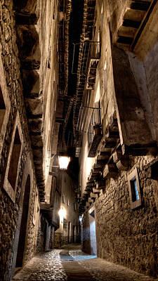 Photograph - Narrow Street In Albarracin by Weston Westmoreland