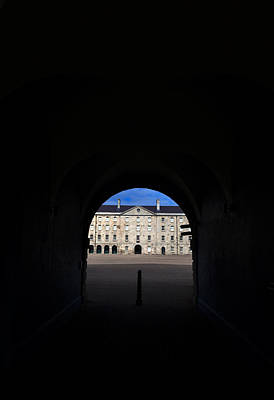 The National Museum Of Ireland, Archway Print by Panoramic Images