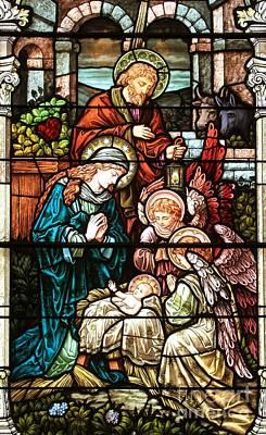Photograph - The Nativity by Adam Jewell