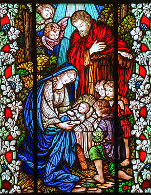 Photograph - The Nativity by Larry Ward