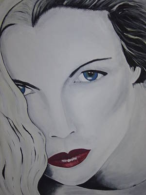 Kim Basinger Painting - The Natural by Dean Stephens