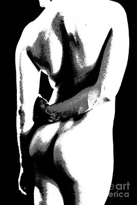 Male Nude Drawing Photograph - The Natural by Robert D McBain