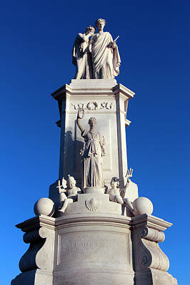 Easter Bunny - The Naval Peace Monument -- The Civil War Sailors Monument by Cora Wandel