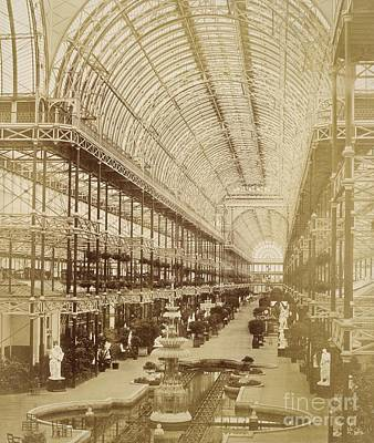The Nave Of Crystal Palace, 1850s Art Print by British Library