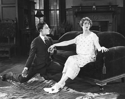 The Navigator, From Left Buster Keaton Art Print