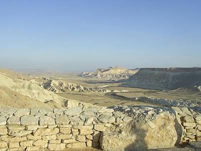 Photograph - The Negev Desert by Esther Newman-Cohen