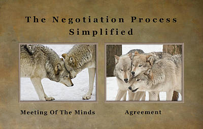 Photograph - The Negotiation Process Simplified by Gary Slawsky