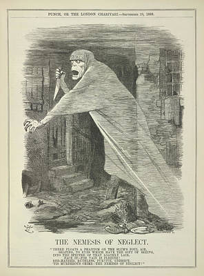 The Nemesis Of Neglect Art Print by British Library