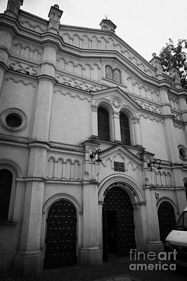 Cracovia Photograph - The Neo Romanesque Tempel Synagogue Krakow by Joe Fox