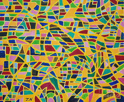 Taikan Painting - Happiness By Taikan by Taikan Nishimoto
