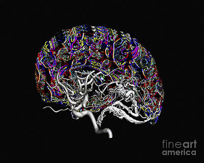 Photograph - The Neural Network by Living Art Enterprises