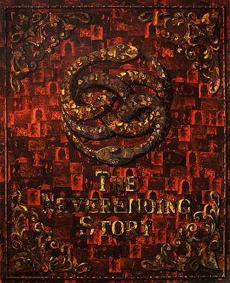 Painting - The Neverending Story by Brent Andrew Doty