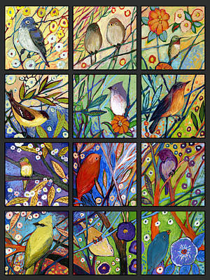 Hummingbirds Painting - The Neverending Story Set Of 12 C2 by Jennifer Lommers