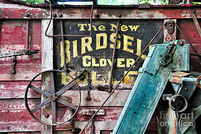 Photograph - The New Birdsell Clover Huller by David Arment