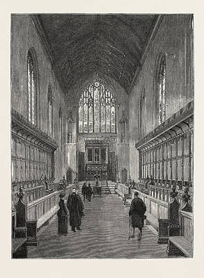Connection Drawing - The New Chapel, Queens College by English School
