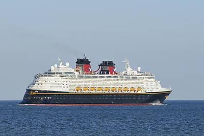 Photograph - The New Disney Magic by Bradford Martin
