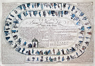 Photograph - The New Game Of Life 1790 by John Hix