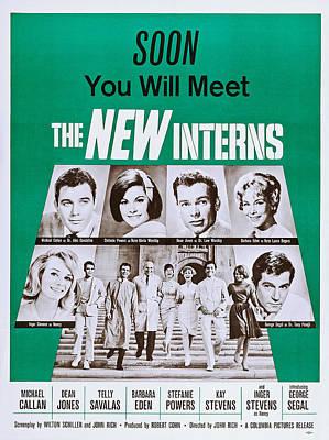The New Interns, Top L-r Michael Art Print