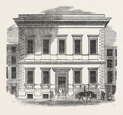 The New Museum Of Practical Geology, Jermyn Street Print by English School