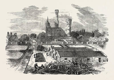 The New River Works, Stoke Newington The Engine House Art Print