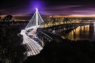 Photograph - The New Span by PhotoWorks By Don Hoekwater