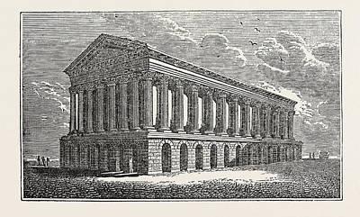The New Town Hall, Birmingham, Uk, Britain Art Print by English School