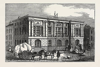 The New Trinity House, On Tower Hill, Uk, Britain Art Print by English School
