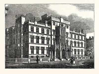 The New Westminster Hospital, London, Uk, Britain Art Print by English School