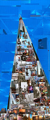 Exchange Mixed Media - The New World Trade Center by Vince MacDermot