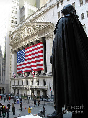 The New York Stock Exchange Art Print by RicardMN Photography