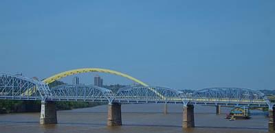 Photograph - The Newport Southbank Bridge by Dan Sproul