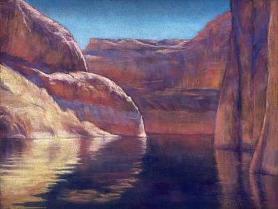 Painting - The Next Bend by Marjie Eakin-Petty