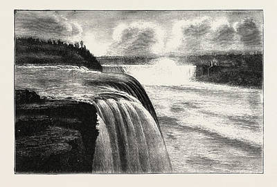 The Niagara Falls, View From Prospect Point Art Print