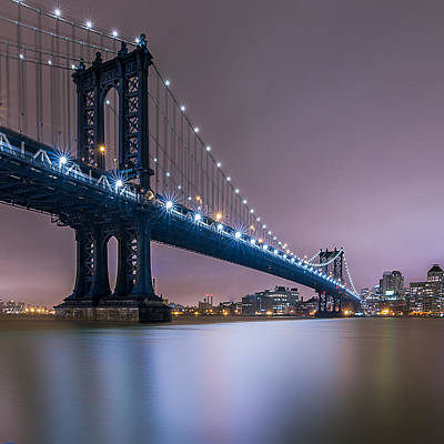 Bridge Photograph - The Night B4 Christmas  by Anthony Fields
