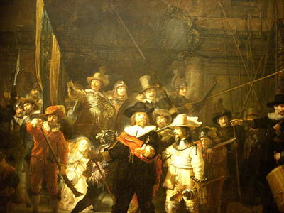 Painting - The Night Watch by Rembrandt