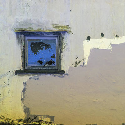 Minimalism Photograph - The Night Window by Lee Harland