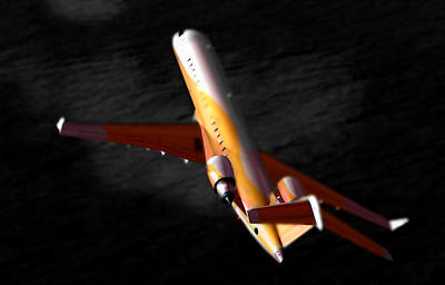 Buy Photograph - The No 2 Crj700 - Bombardier by Marcello Cicchini