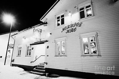The Nordpol Kro Pub In Vardo Finnmark Norway Europe Art Print by Joe Fox