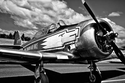 Trainer Aircraft Photograph - The North American T-6 Texan by David Patterson