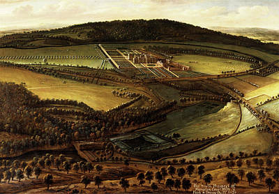 The North Prospect Of Hampton Court, Herefordshire Art Print by Litz Collection